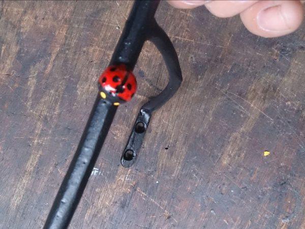 アイアン製てんとう虫