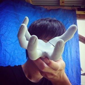 オブジェ爪の製作